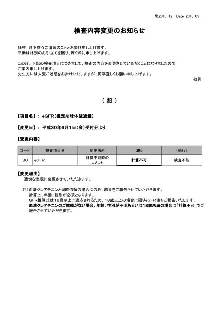 NO-12検査内容変更案内(eGFR)のサムネイル