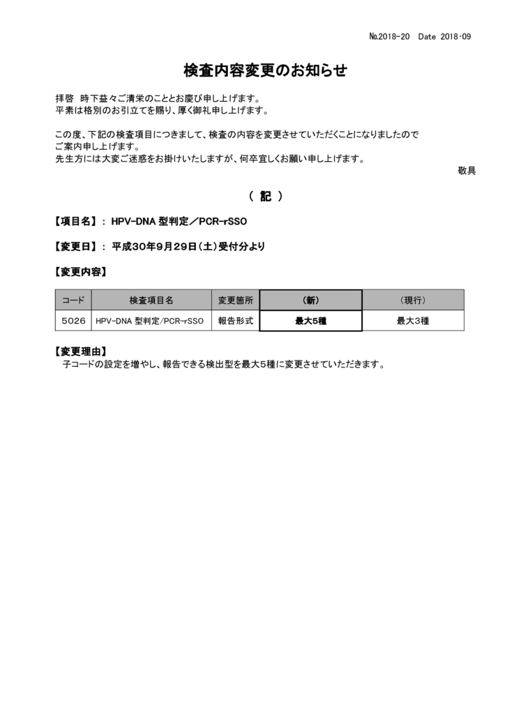 NO-20検査内容変更案内(HPV-DNA型判定)のサムネイル