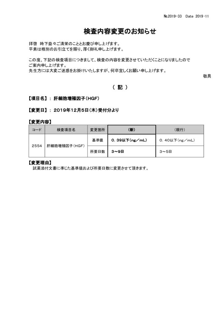 NO-33検査内容変更案内(肝細胞増殖因子(HGF))のサムネイル