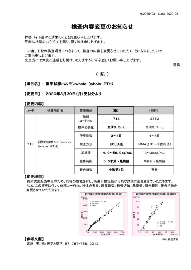 NO-03検査内容変更案内(whole PTH)のサムネイル