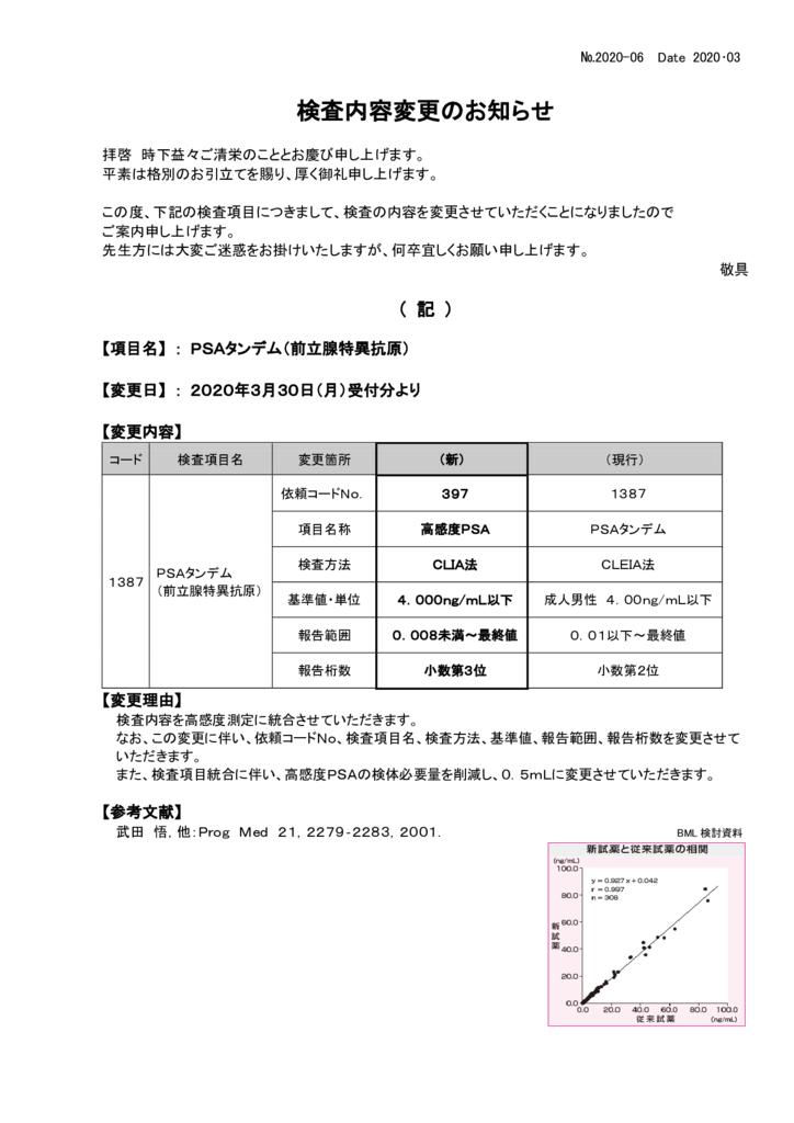 NO-06検査内容変更案内(PSAタンデム)のサムネイル