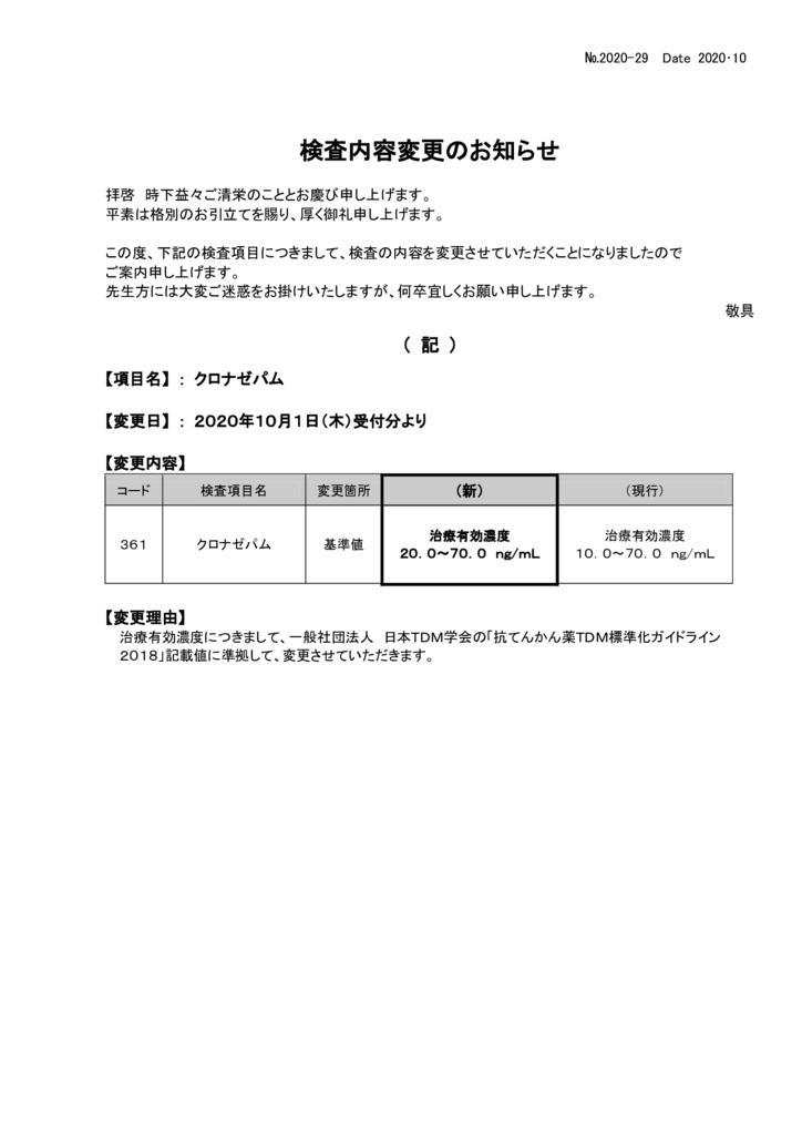 NO-36検査内容変更案内(クロナゼパム)のサムネイル