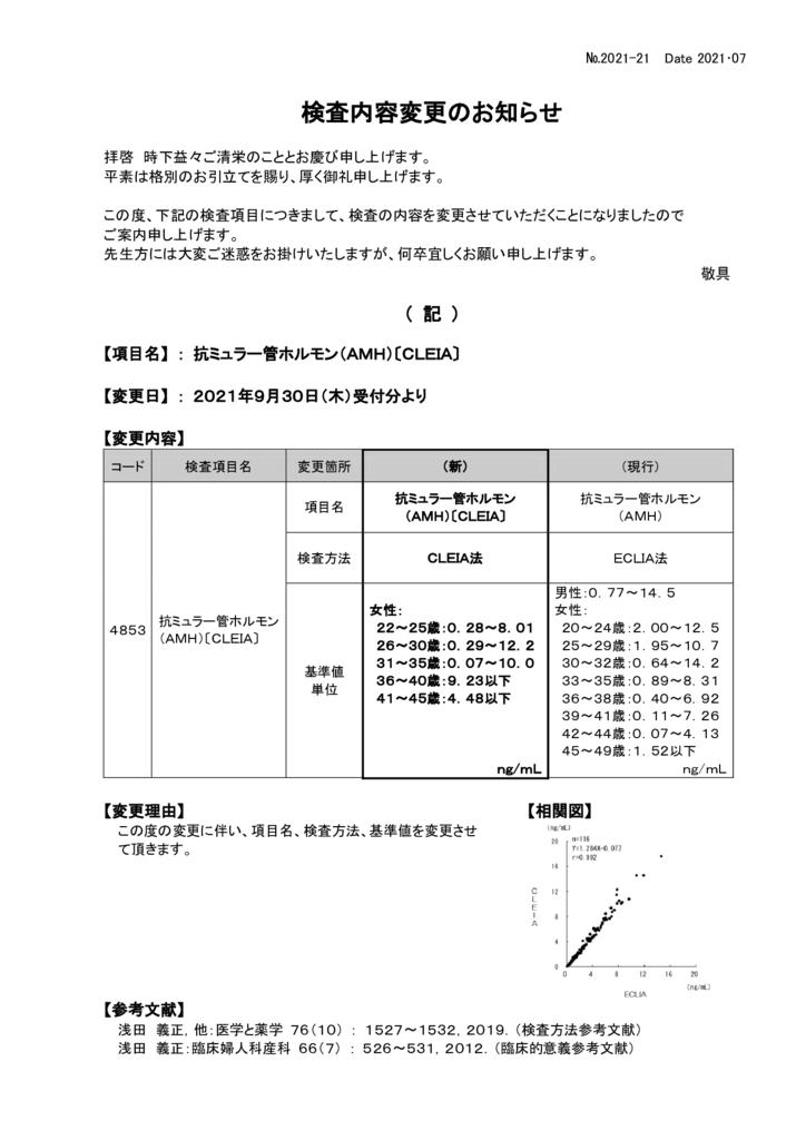 NO-21検査内容変更案内(抗ミュラー管ホルモン)のサムネイル